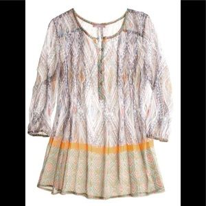 Silk Printed Tunic - CALYPSO ST BARTH